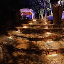 Landscape Lighting World 5 Ways To Add Landscape Lighting To Concrete Hardscaping