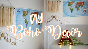 Pinterest Diy Room Decor by Diy Pinterest Room Decor Wanderlust U0026 Boho Inspired Youtube