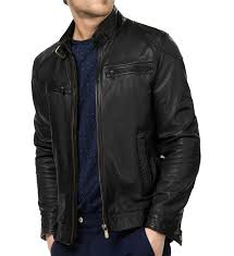 biker jacket men bluster men leather biker jackets leathersketch