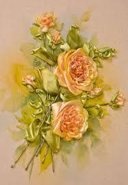 ribbon embroidery flower garden ingrid lee u0027s roses u2026 di van niekerk