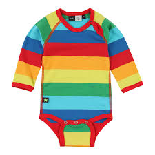 Online Baby Clothing Stores Molo Rainbow Stripe Bodysuit New Stuff In The Shop Pinterest