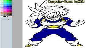 vegeta coloring pages dragonball online coloring pages son gohan 37 youtube