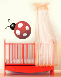 Ladybug Home Decor Ladybug Wall Decal Wall Decals Stickers Home Decor Home Furniture