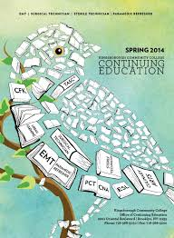 kbcc map kingsborough continuing education 2014 catalog by