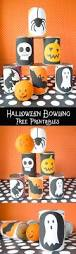 diy halloween bowling game with free printables game ideas home