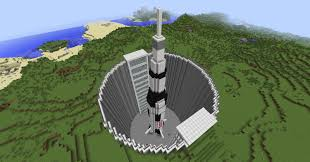 deep silo builder just finished my missile silo with the saturn v rocket in it