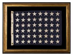 Star Flags Jeff Bridgman Antique Flags And Painted Furniture 48 Star U S