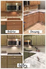 before and after pictures of painted laminate kitchen cabinets how to resurface kitchen countertops let s paint furniture