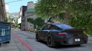 porsche blackbird porsche 911 turbo gta5 mods com