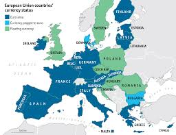 map of wurope taking europe s pulse european economic guide the economist
