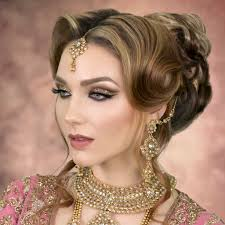 bridal hairstyle images latest asian bridal hairstyles hairstylist hairstyling courses