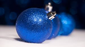 sparkly blue ornaments wallpaper wallpapers