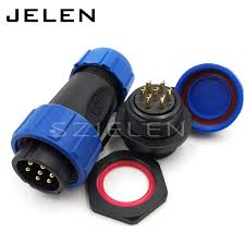sp2110 p7 7 pin cable connector wire connector ip68 connector