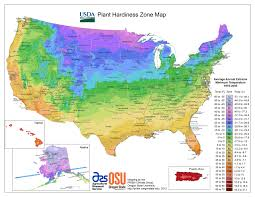 Map Of The Eastern United States by Usda Hardiness Zone Finder Garden Org