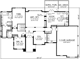 prairie style floor plans plan 89754ah expandable prairie style home plan sitting area