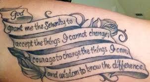 serenity prayer tattoos future tattoos