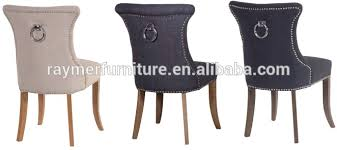 Upholstered Linen Dining Chairs Olson Norway Upholstery Linen Ring Back Studded Dining Chair View