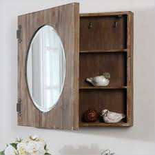25 best ideas about bathroom mirror cabinet on pinterest uttermost gualdo aged wood mirror cabinet country bathroom mirrors