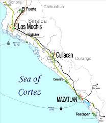 sinaloa mexico map sinaloa map and cground locations mexico