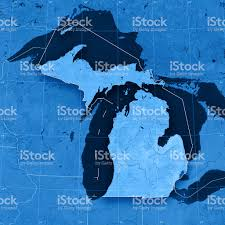 Michigan Topographic Maps by Michigan Topographic Map Stock Photo 173915826 Istock