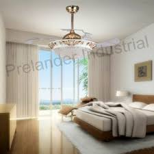 Ceiling Fans For Living Rooms Invisible Ceiling Fan Decorative Retractable Blade Fan For Living