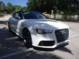 white audi a5 convertible used audi convertibles for sale with photos carfax