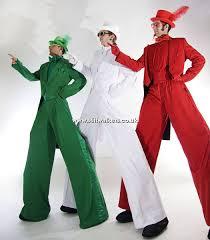 stilt costumes halloween colour themed stilt walkers u0026 walking acts