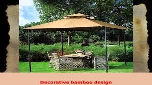 Patio Tent Gazebo by 10 X 10 Grove Patio Canopy Gazebo Youtube