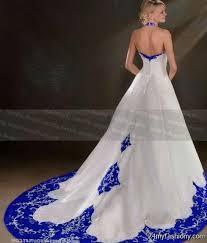 royal blue halter wedding dress 2016 2017 b2b fashion