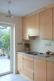 birch veneer kitchen cabinet doors birch ply handleless kitchen darren langrell kitchens furniture