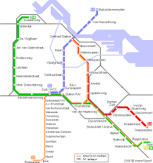 rotterdam netherlands metro map metroplanet europe netherlands amsterdam metro