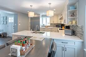 how to install peninsula kitchen cabinets kitchen renovation cost estimator line kitchen design