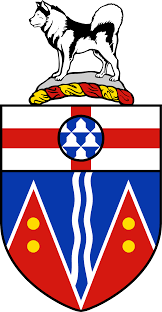 Canadian Provincial Flags Coat Of Arms Of Yukon Wikipedia