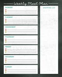 menu planner template free printable meal plan calendar 2017 printable 2017 calendar printable 2017 printable calendar