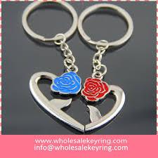 wedding gift price factory price heart keyrings pair keychain key