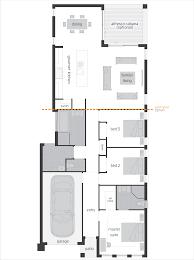 Floor Plans For Narrow Blocks Hamilton Floorplans Mcdonald Jones Homes