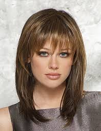 layered medium length hairstyles with bangs latest hairstyles for women to try in 2016 medium length