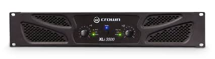 xli 3500 crown audio professional power amplifiers