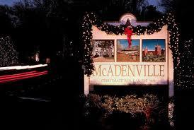 mcadenville christmas lights 2017 christmas town usa mcadenville christmas lights tree lighting