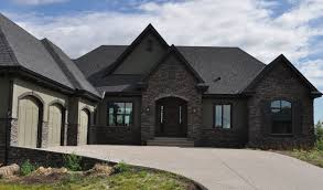 homes with black roofs 61 best exterior paint colors with black