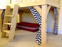 Twin Loft Bed With Desk Plans Free by Ana White Clubhouse Bed Diy Projects