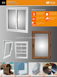high quality u pvc sliding window for only 50 dollar square meters