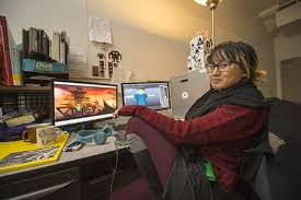 Game Design Art Institute Hard Work And Passion Q A With Game Design Major Helen Su