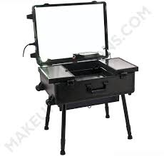 portable hair and makeup stations portable barber station portable lighted makeup station with large
