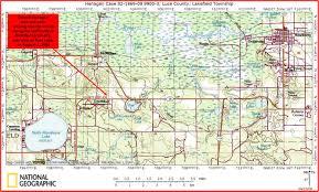 Upper Michigan Map Derrick Henagan U0027s Home Page