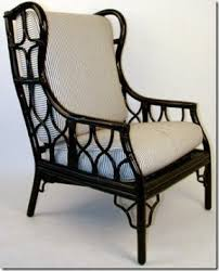 Wingback Wicker Chair Black Wingback Chair Foter