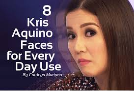 8 kris aquino faces for everyday use