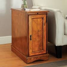 Storage Side Table Furniture Of America Terra Multi Storage Side Table With Power