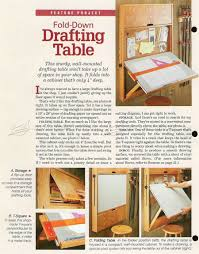 The Drafting Table Fold Drafting Table Plans Table Plans Woodworking And Woods