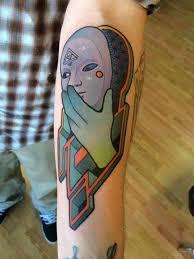 25 ide surreal tattoo yang sedang nge tren di pinterest seni